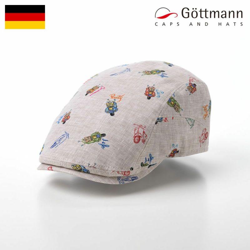 帽子 ハンチング Gottmann(ゴットマン) Richmond Linen(リッチモンド リネン) G2810406 ホワイト