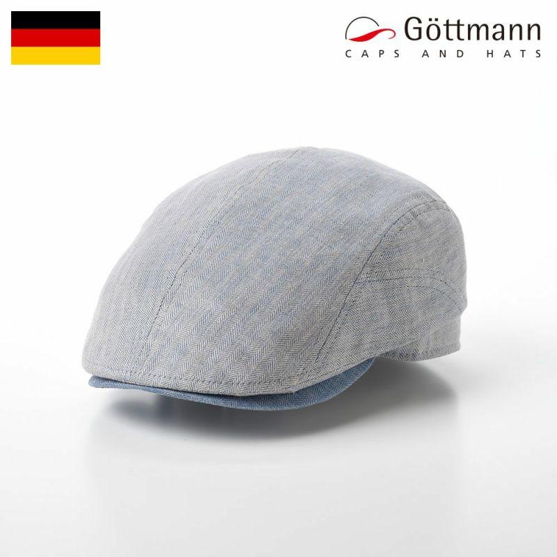 帽子 ハンチング Gottmann(ゴットマン) Belvedere Linen(ベルベデーレ リネン) G2714341 グレー