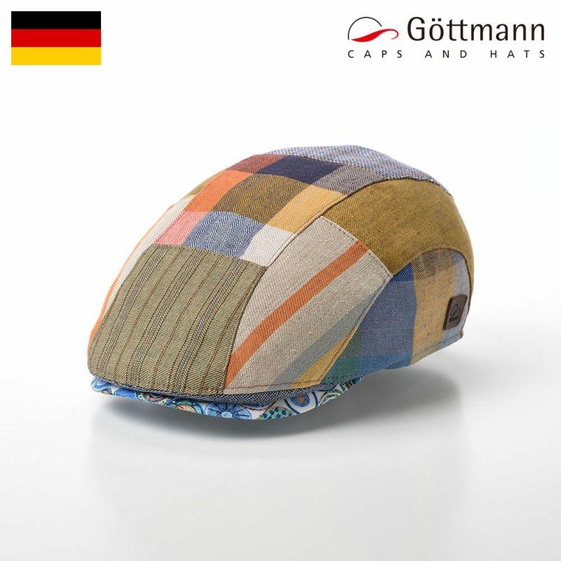 帽子 ハンチング Gottmann(ゴットマン) Baxter Patchwork Linen(バクスター パッチワーク リネン) G2786407 マルチ