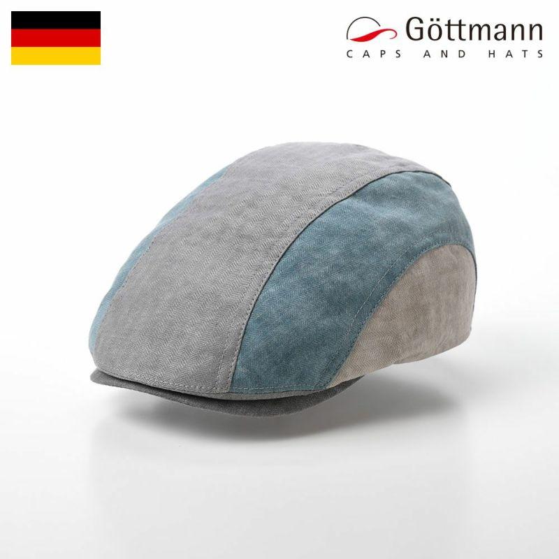 帽子 ハンチング Gottmann(ゴットマン) Baxter Himmel(バクスター ヒンメル) G2796346 ブルーグレー