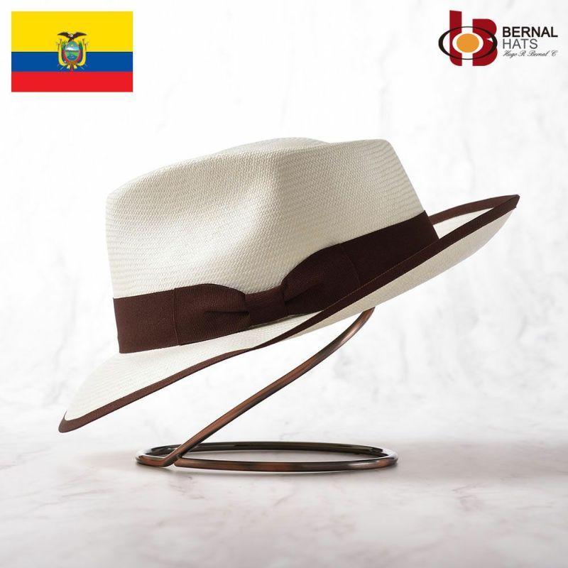 帽子 パナマハット BERNAL(ベルナール) FORTE(フォルテ)ホワイト