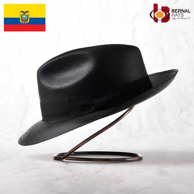 帽子 パナマハット BERNAL(ベルナール) DIOS(ディオス)ブラック