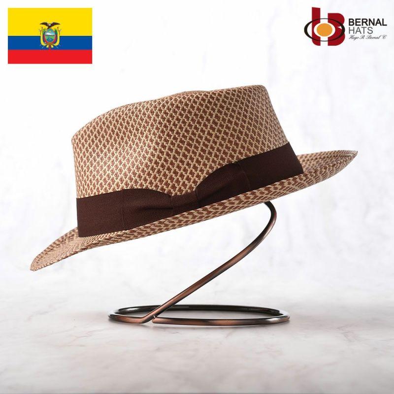 帽子 パナマハット BERNAL(ベルナール) TRIGO(トリーゴ)ブラウン