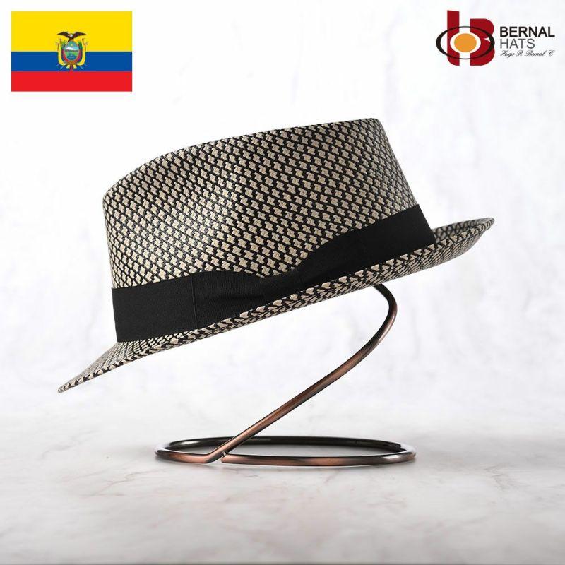 帽子 パナマハット BERNAL(ベルナール) TRIGO(トリーゴ)ブラック