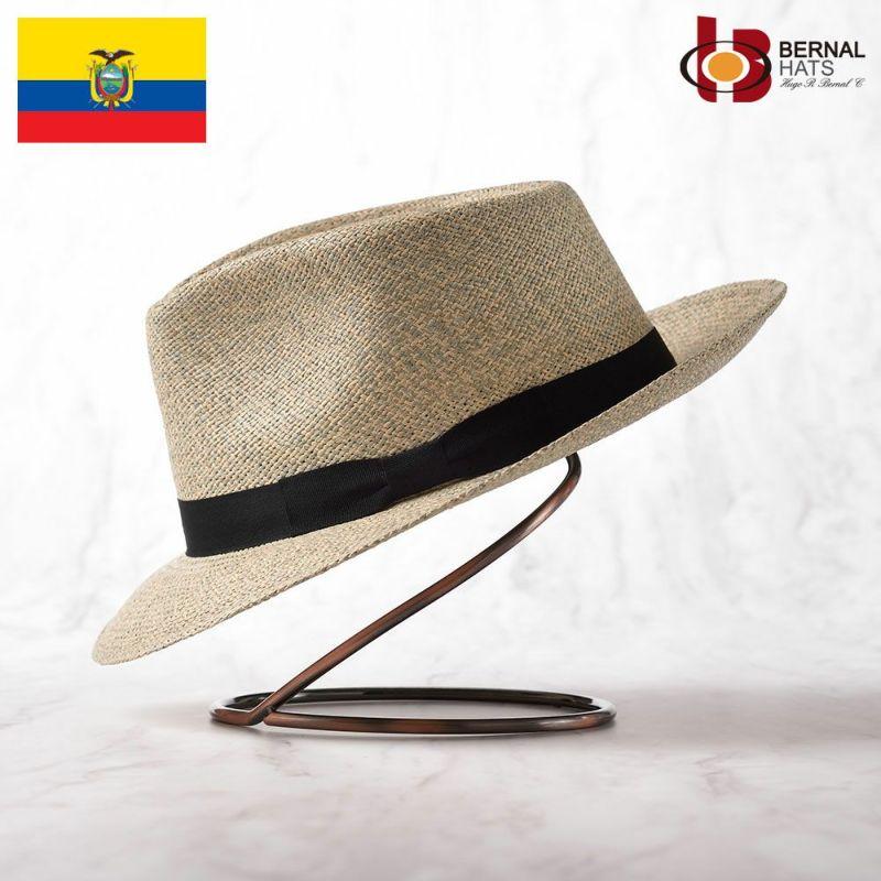 帽子 パナマハット BERNAL(ベルナール) ESPECIA(エスペシア)ライトブルー
