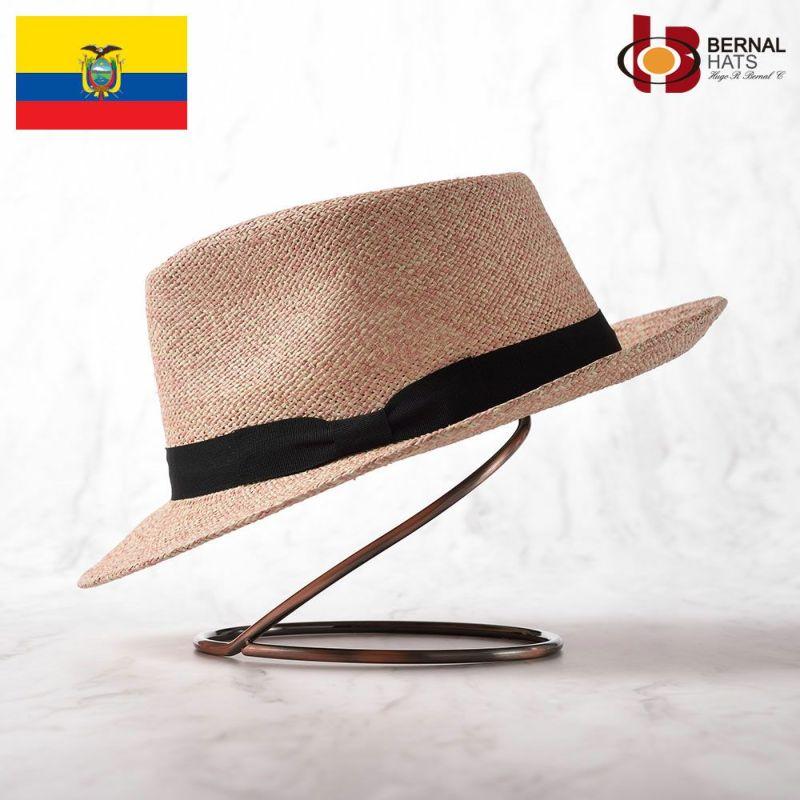 帽子 パナマハット BERNAL(ベルナール) ESPECIA(エスペシア)ピンク