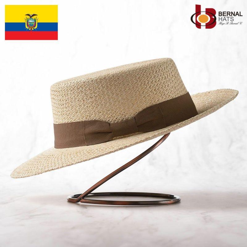 帽子 パナマハット BERNAL(ベルナール) PLANO(プラーノ)ナチュラル