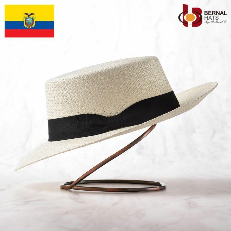 帽子 パナマハット BERNAL(ベルナール) PLANO(プラーノ)ホワイト