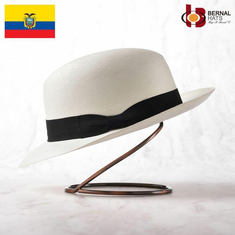帽子 パナマハット BERNAL(ベルナール) ETOILE(エトワール)ホワイト