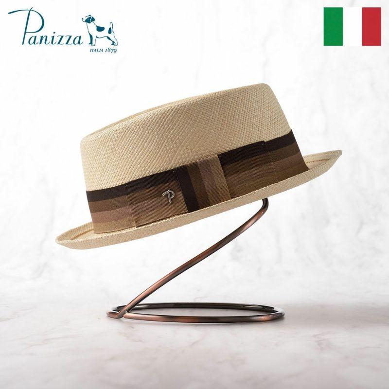 帽子 パナマハット Panizza(パニッツァ) FABRIZIO(ファブリツィオ)ナチュラル