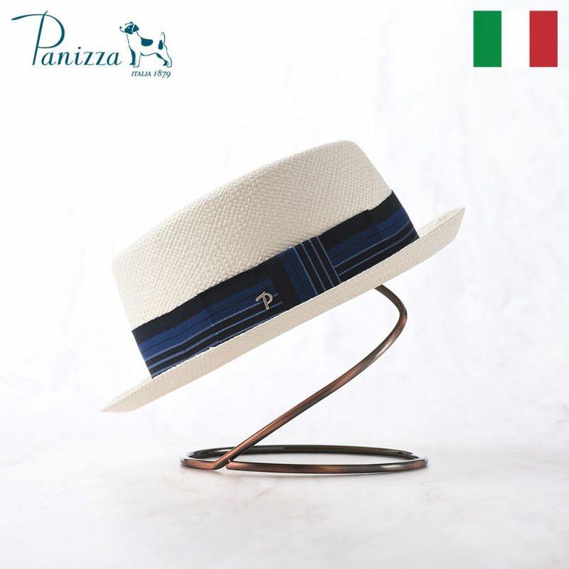 帽子 パナマハット Panizza(パニッツァ) FABRIZIO(ファブリツィオ)ホワイト