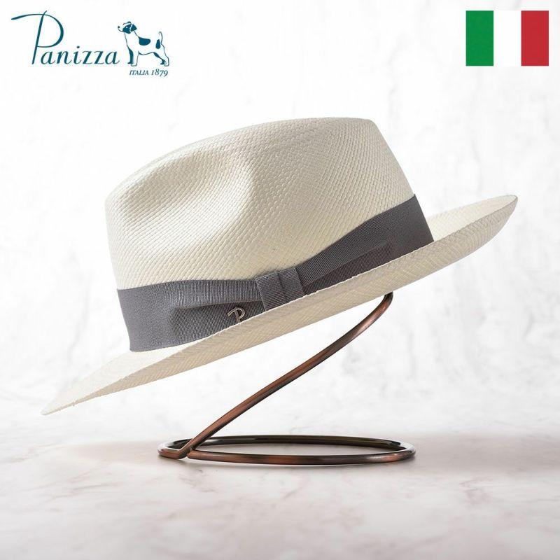 帽子 パナマハット Panizza(パニッツァ) QUITO SPERANZA(キト スペランツァ)ホワイト