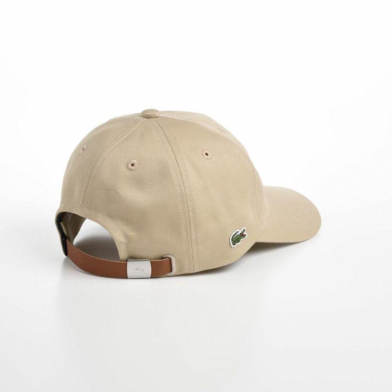 INITIAL APPLIQUE CAP(イニシャルアップリケキャップ) L1182 ベージュ