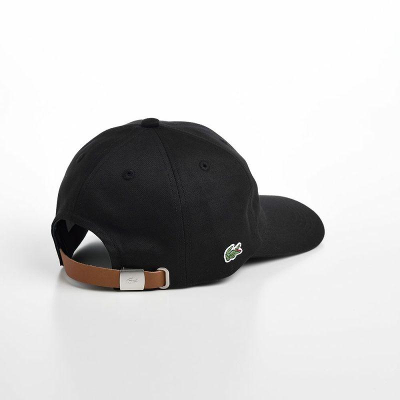 INITIAL APPLIQUE CAP(イニシャルアップリケキャップ) L1182 ブラック