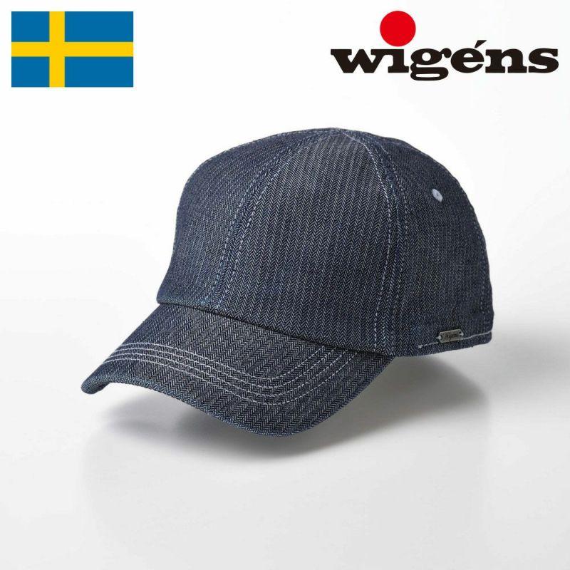 帽子 ベースボールキャップ Wigens(ヴィゲーンズ) Baseball Cap(ベースボールキャップ)W120347 グレー