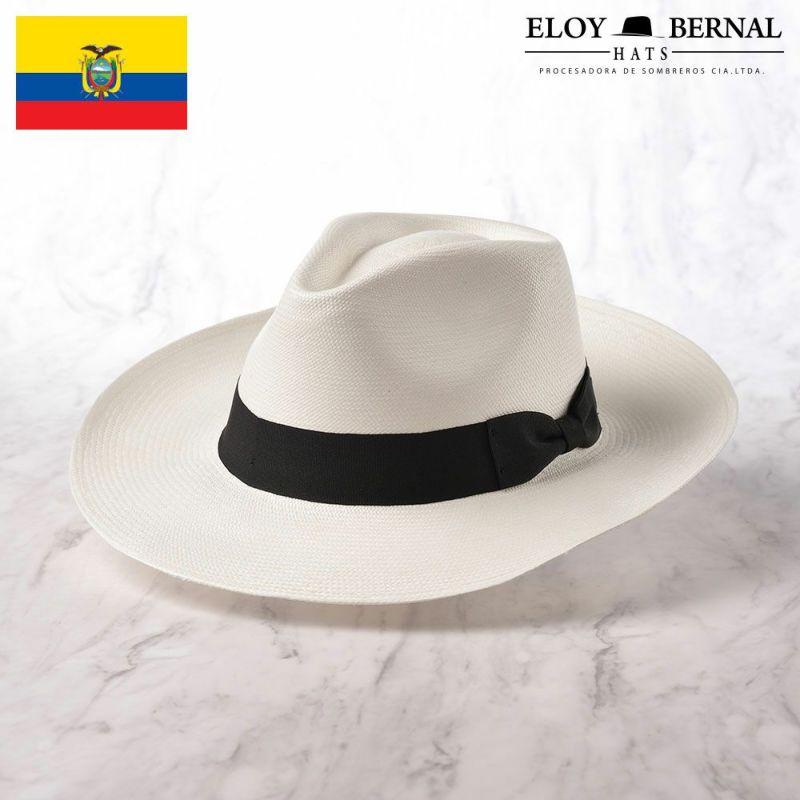 帽子 パナマハット ELOY BERNAL(エロイ ベルナール) LARGO(ラーゴ)ブラック