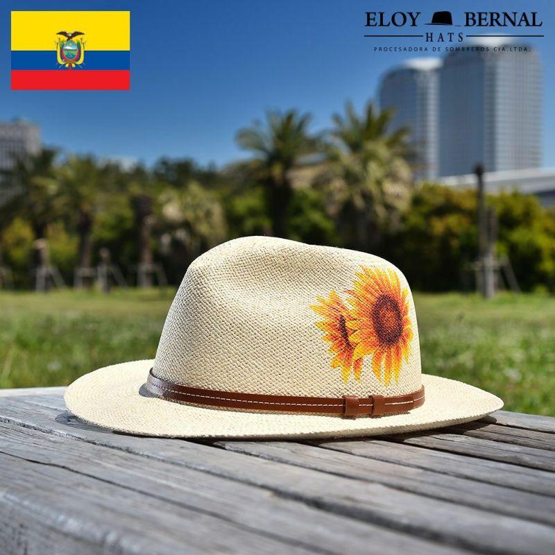 帽子 パナマハット ELOY BERNAL(エロイ ベルナール) HIMAWARI(ヒマワリ)ナチュラル