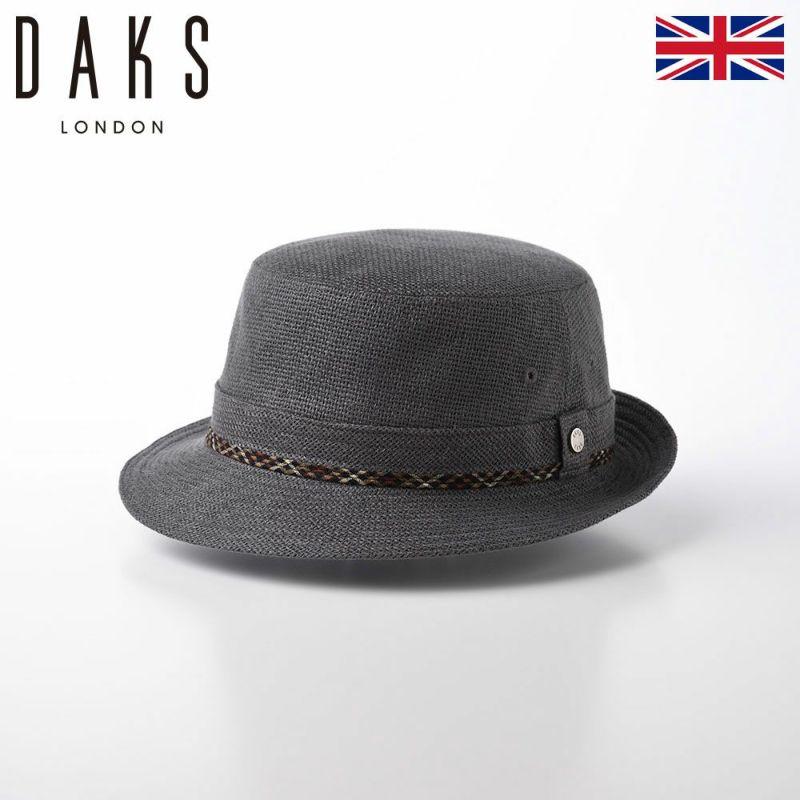 帽子 布帛ソフトハット DAKS(ダックス) Alpen Linen Mesh(アルペン リネンメッシュ) D1524 グレー