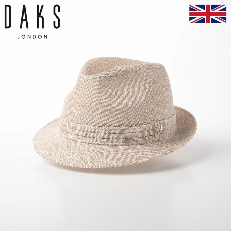 帽子 布帛ソフトハット DAKS(ダックス) New Lescaut Cotton Knit(ニューレスコー コットンニット) D1576 ベージュ