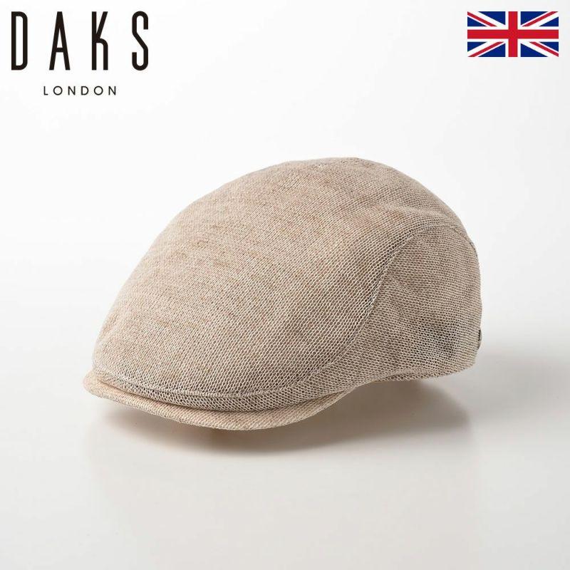 帽子 ハンチング DAKS(ダックス) Hunting Cotton Knit(ハンチング コットンニット) D1577 ベージュ