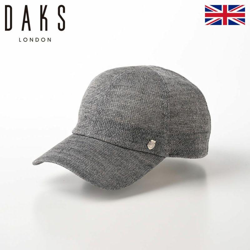 帽子 ベースボールキャップ DAKS(ダックス) Cap Cotton Knit(キャップ コットンニット) D1578 グレー