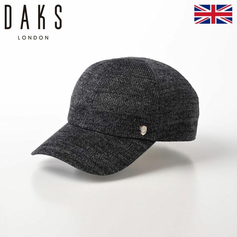 帽子 ベースボールキャップ DAKS(ダックス) Cap Cotton Knit(キャップ コットンニット) D1578 チャコールグレー