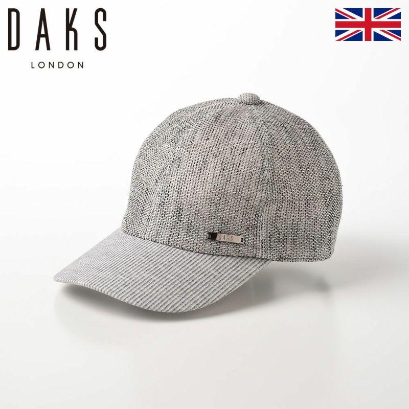 帽子 ベースボールキャップ DAKS(ダックス) Cap Cool Max(キャップ クールマックス) D1663 グレー