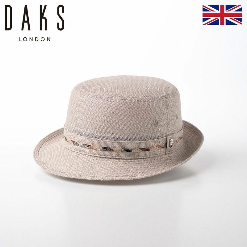 帽子 布帛ソフトハット DAKS(ダックス) Alpen Dobby Mesh(アルペン ドビー メッシュ) D1668 ベージュ
