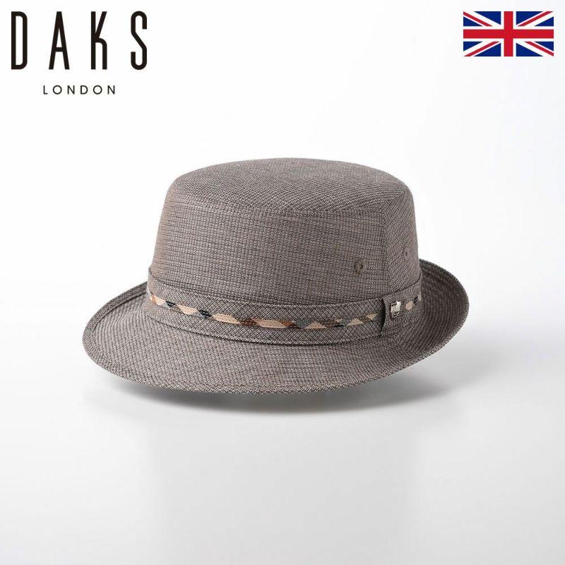 帽子 布帛ソフトハット DAKS(ダックス) Alpen Dobby Mesh(アルペン ドビー メッシュ) D1668 モカブラウン