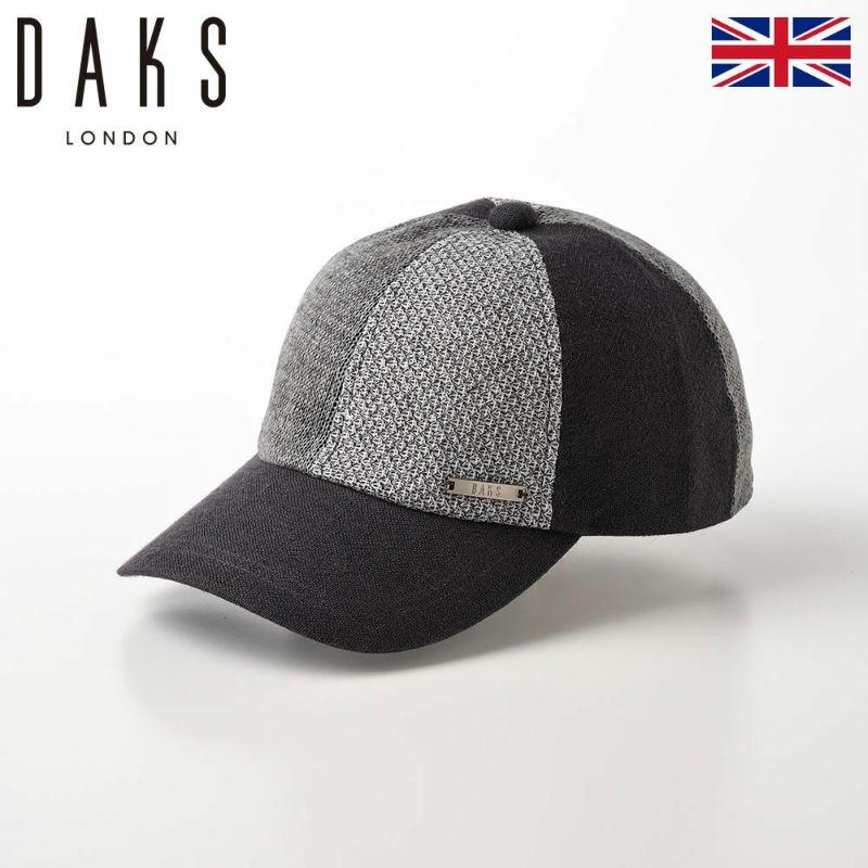 帽子 ベースボールキャップ DAKS(ダックス) Cap Patchwork(キャップ パッチワーク) D1675 グレー