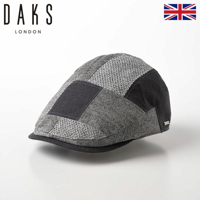 帽子 ハンチング DAKS(ダックス) Hunting Patchwork(ハンチング パッチワーク) D1676 グレー