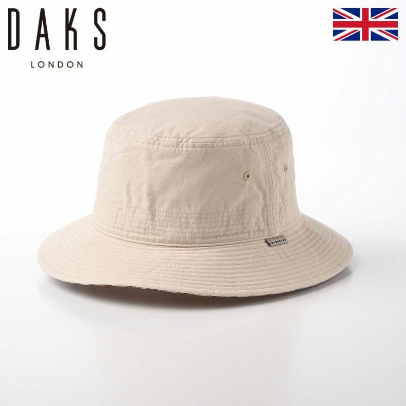帽子 サファリハット DAKS(ダックス) Safari Cotton Washer(サファリ コットンワッシャー) D1694 アイボリー