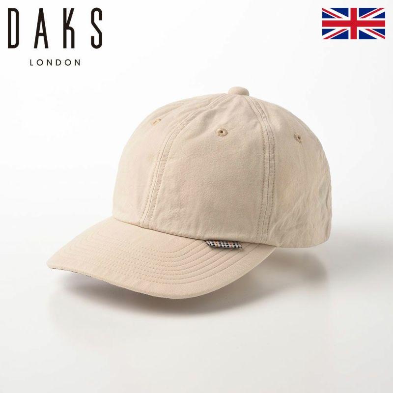 帽子 ベースボールキャップ DAKS(ダックス) Cap Cotton Washer(キャップ コットンワッシャー) D1695 アイボリー