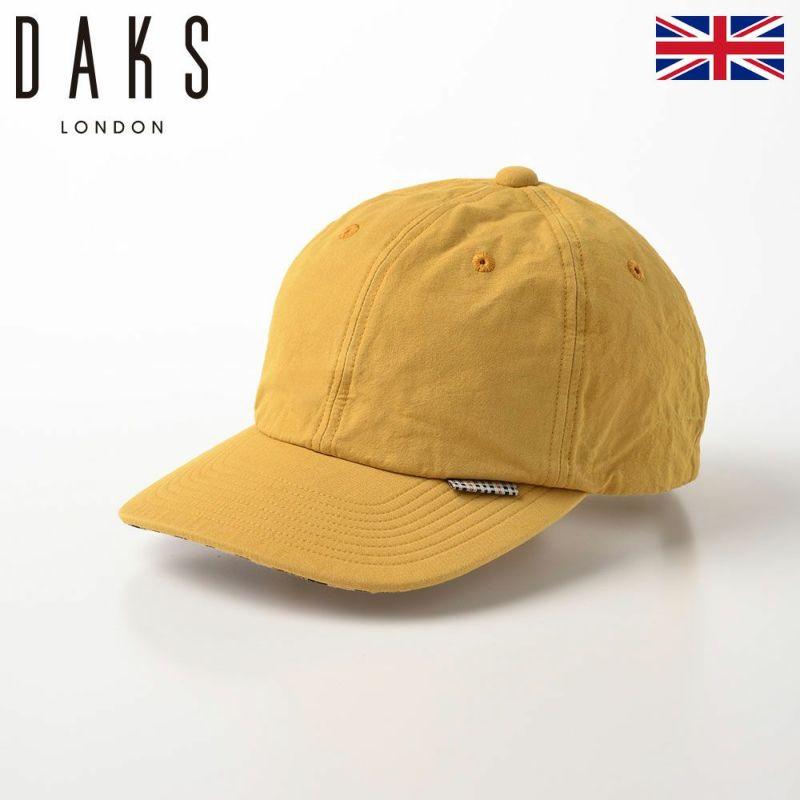 帽子 ベースボールキャップ DAKS(ダックス) Cap Cotton Washer(キャップ コットンワッシャー) D1695 イエロー