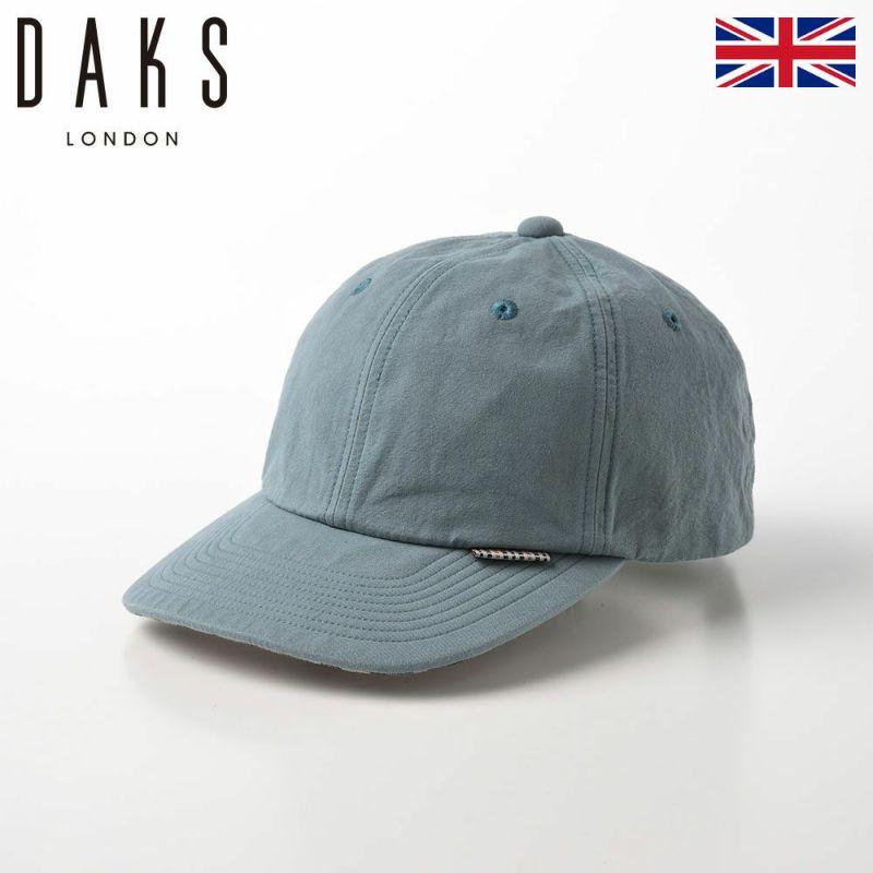 帽子 ベースボールキャップ DAKS(ダックス) Cap Cotton Washer(キャップ コットンワッシャー) D1695 サックスブルー