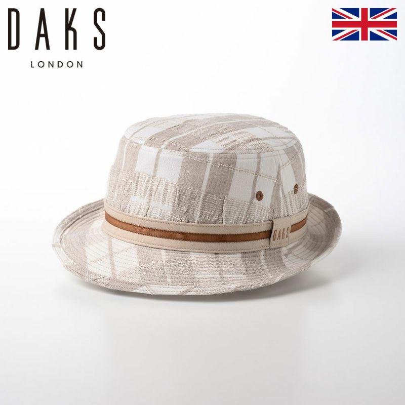 帽子 アルペンハット DAKS(ダックス) Alpen Check(アルペン チェック) D1696 ベージュ