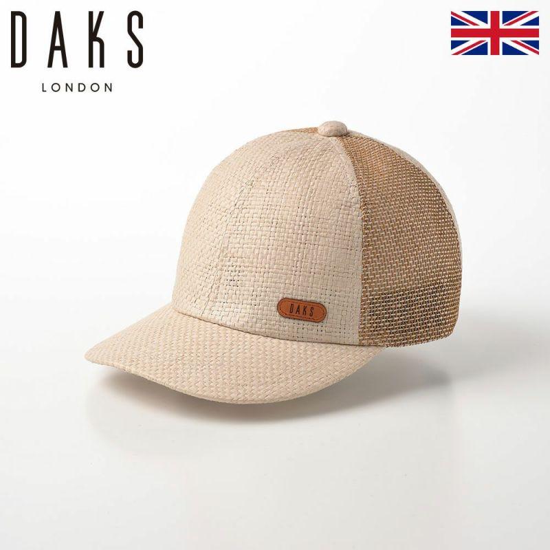 帽子 ベースボールキャップ DAKS(ダックス) Cap Paper Yarn(キャップ ペーパーヤーン) D1700 アイボリー