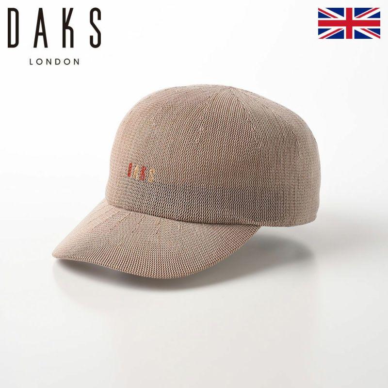 帽子 ベースボールキャップ DAKS(ダックス) Cap LUSTLE YARN(キャップ ラスルヤーン) D1704 ベージュ
