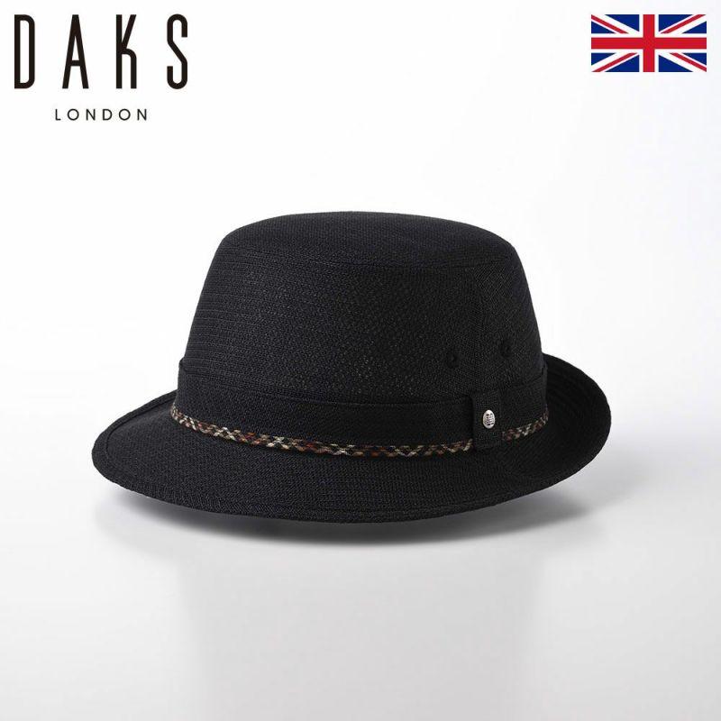 帽子 アルペンハット DAKS(ダックス) Alpen KARAMI Mesh(アルペン カラミメッシュ) D2974 ブラック