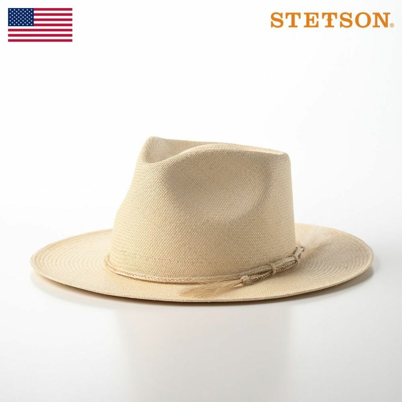 帽子 パナマハット STETSON(ステットソン) PANAMA HORSE HAIR(パナマ ホース ヘアー)SE592 ナチュラル