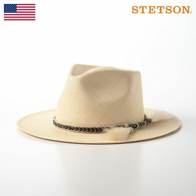 帽子 パナマハット STETSON(ステットソン) PANAMA HORSE HAIR(パナマ ホース ヘアー)SE592 黒馬毛