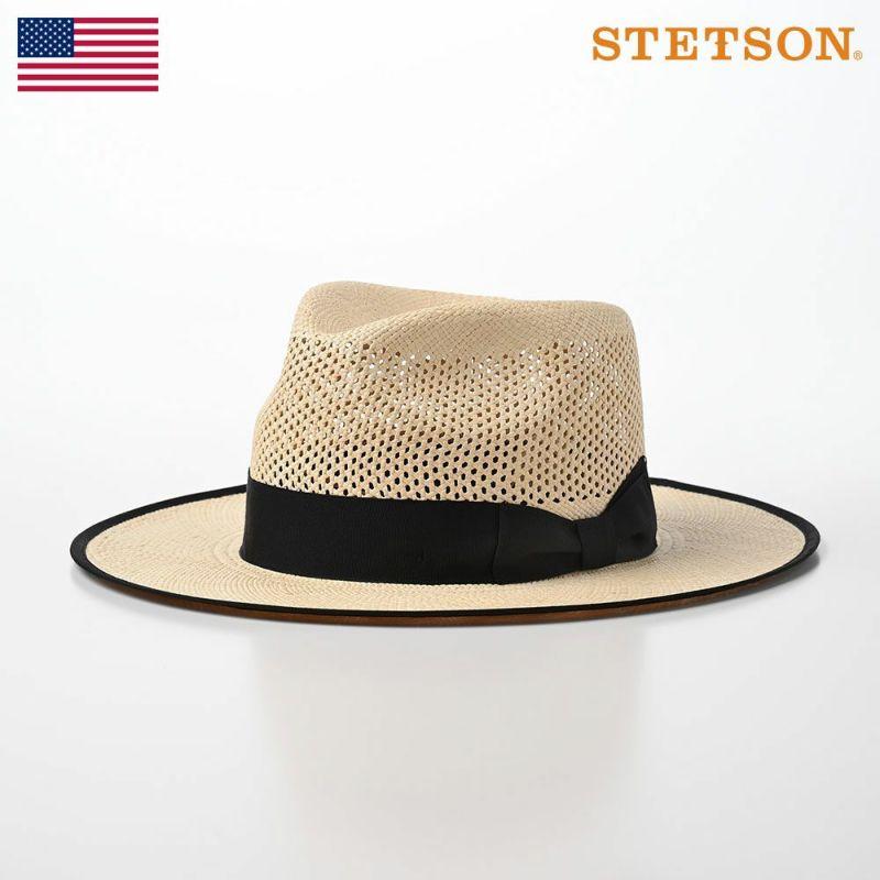 帽子 パナマハット STETSON(ステットソン) FLAT WHIPPET PANAMA FC(フラット ウィペット パナマ FC)SE584 ナチュラル