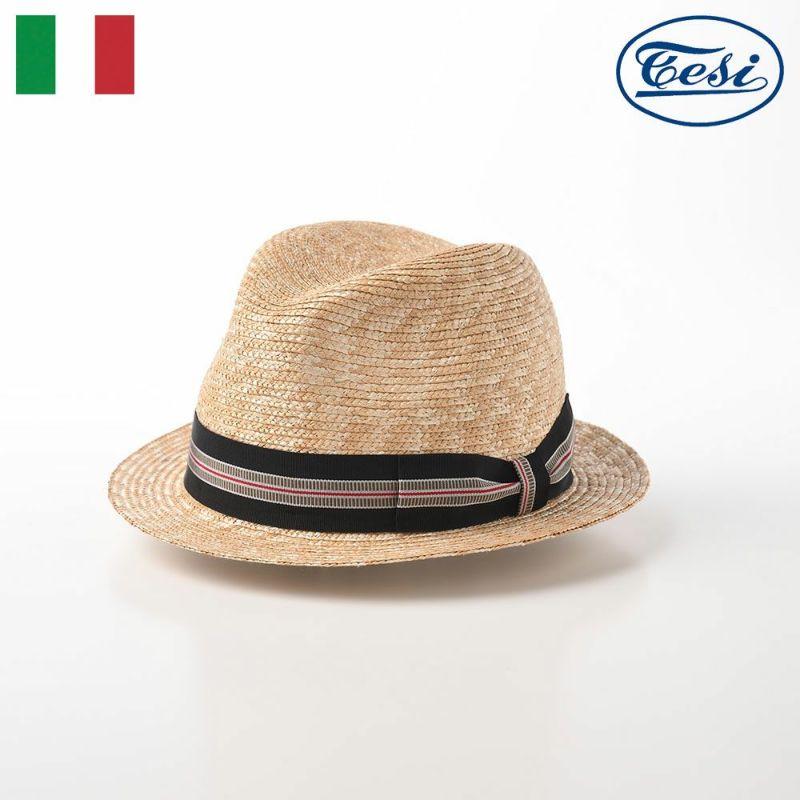 帽子 ストローハット TESI(テシ) Straw Hat(ストローハット) T0732 ナチュラル