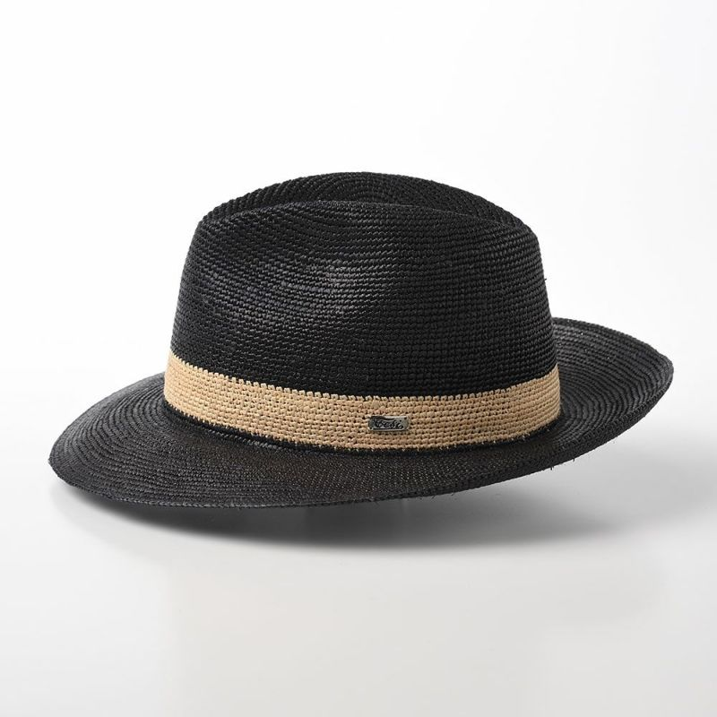 Panama Hat Croche(パナマハット クロッシェ) T1904 ブラック