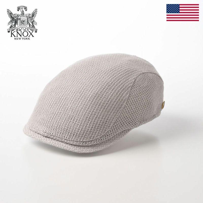 帽子 ハンチング KNOX(ノックス) Knit Hunting(ニットハンチング)KX3J017 グレー