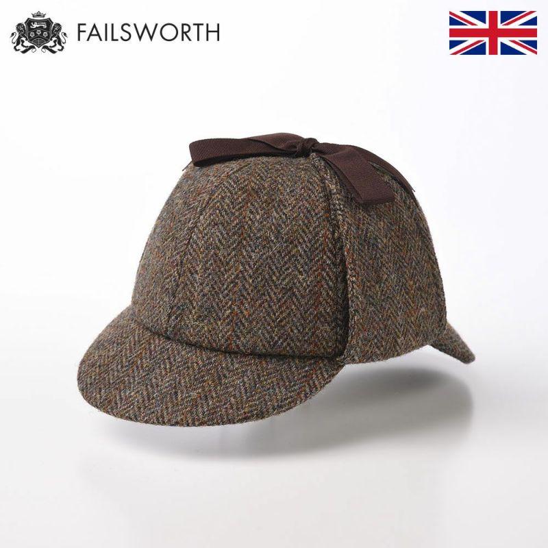 帽子 鹿追帽 FAILSWORTH(フェイルスワース) Harris Tweed Sherlock 2013(ハリスツイード シャーロック)