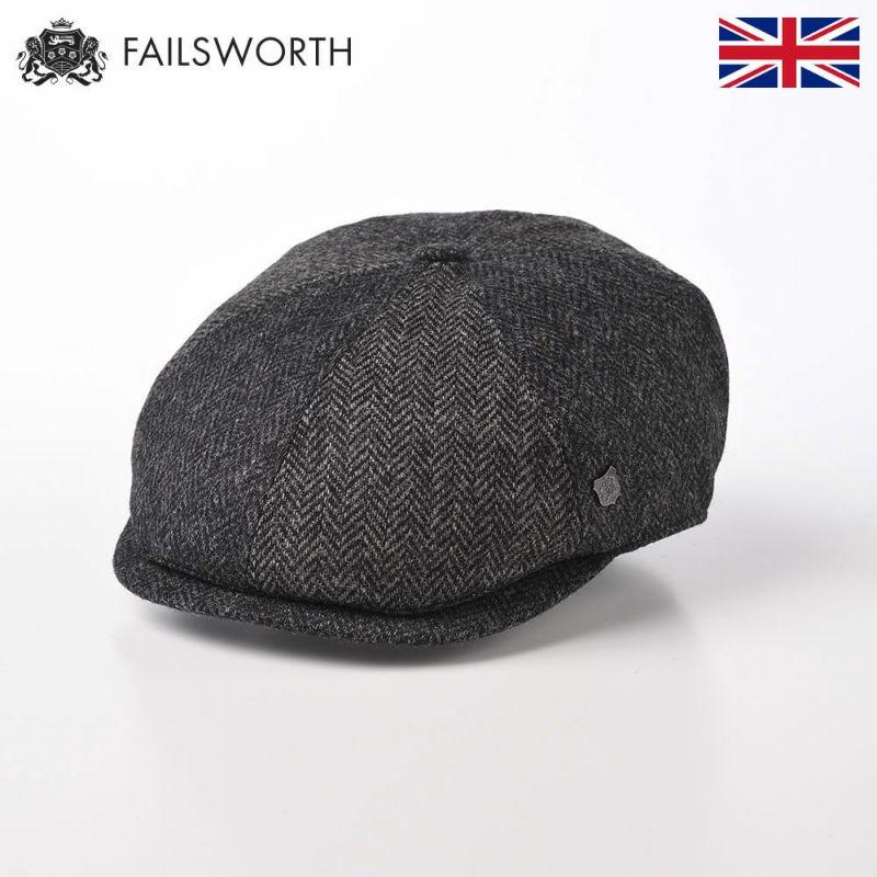 帽子 ハンチング FAILSWORTH(フェイルスワース) Mallalieus Hoxton(マラリウス ホクストン) グレー