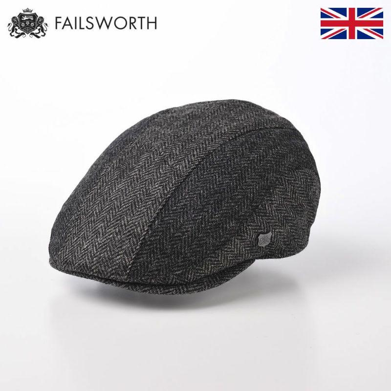 帽子 ハンチング FAILSWORTH(フェイルスワース) Mallalieus Dalston(マラリウス ダルストン) グレー
