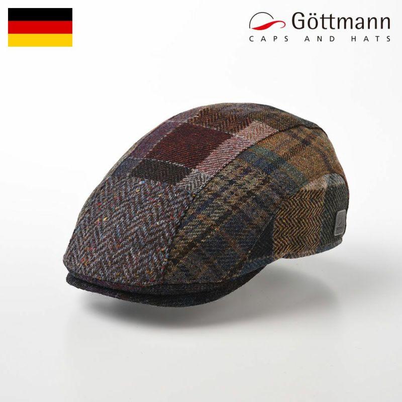 帽子 ハンチング Gottmann(ゴットマン) Baxter Virgin Wool(バクスターヴァージンウール) G2786411 マルチ