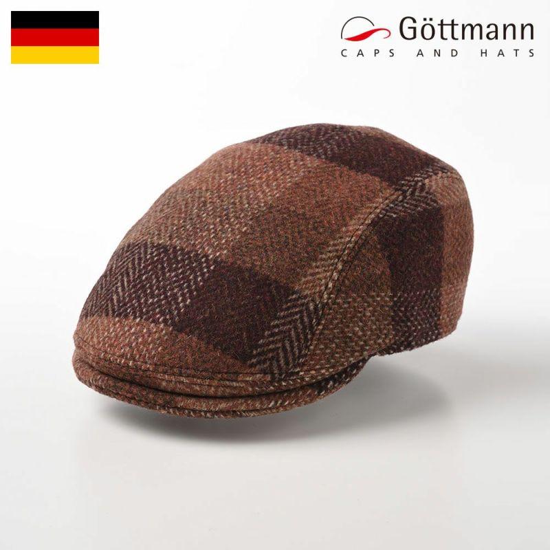 帽子 ハンチング Gottmann(ゴットマン) Boston Wool(ボストン ウール) G2825442 レッドブラウン